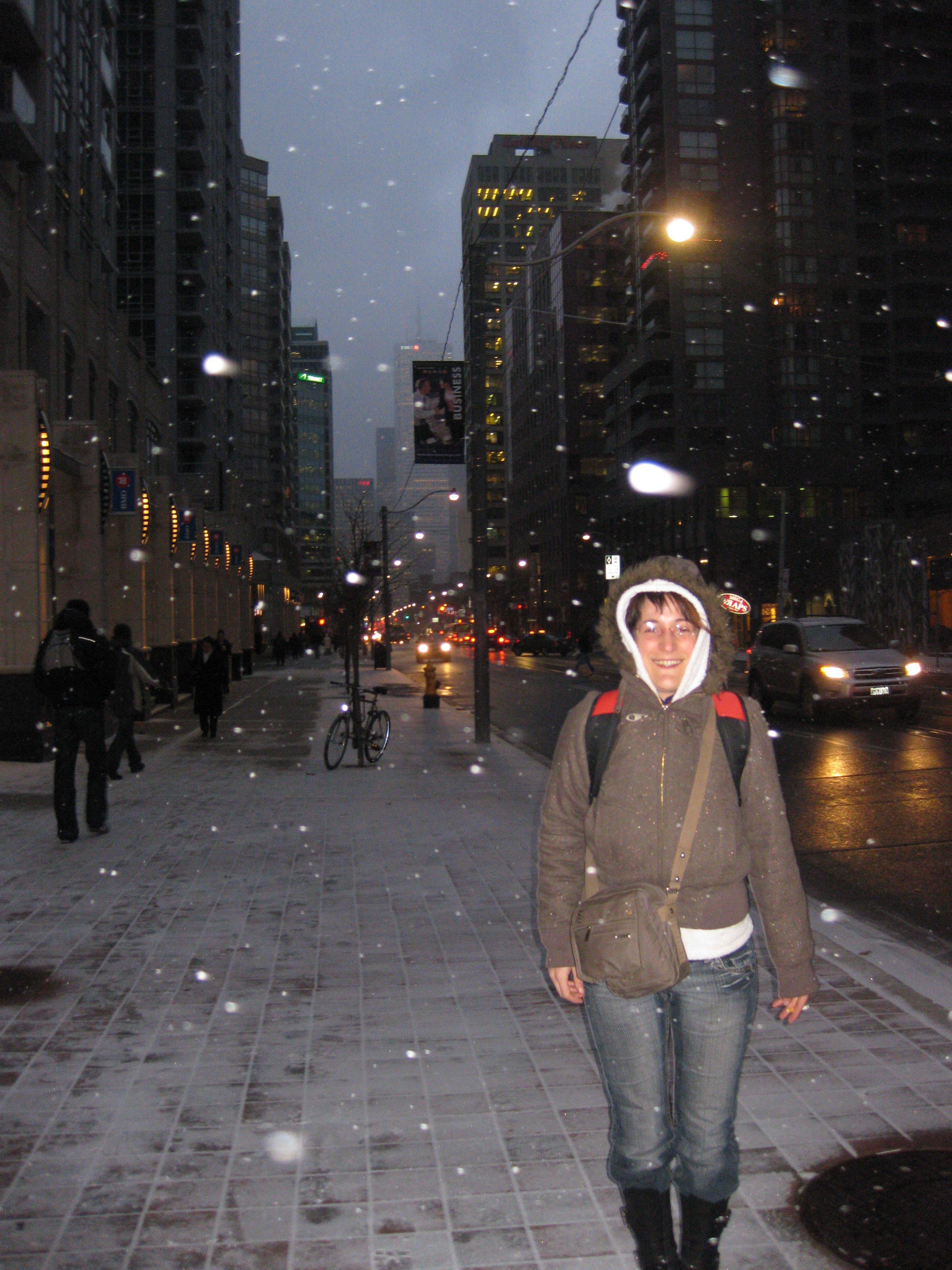 kiki dans la neige